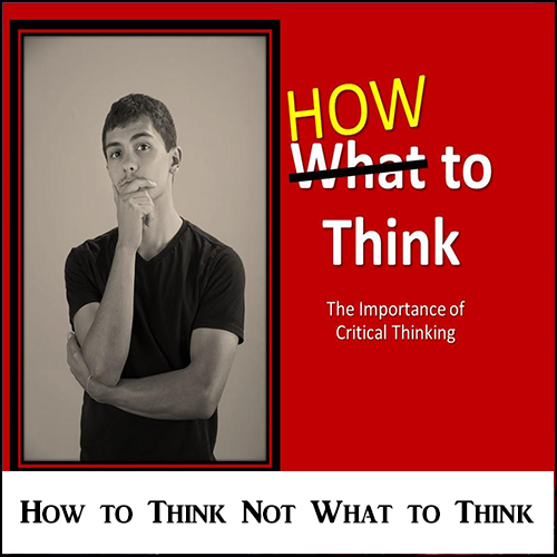 How to Think not What to Think